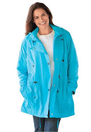 plus size light jacket woman within women s plus size jacket anorak in weather resistant