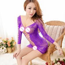 honeymoon sleepwear women fishnet see through bodysuit