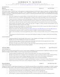 My Resume Online by Jordan Koene Resume