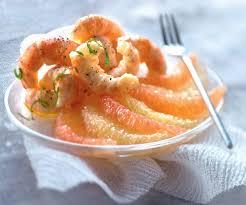 cuisiner les langoustines recette de noël langoustines aux plemousses jaune et