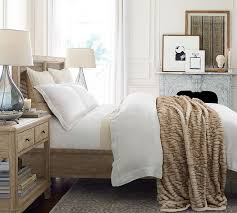 Home Design Fur by Gathered Faux Fur Throw Ivory Tipped Pottery Barn