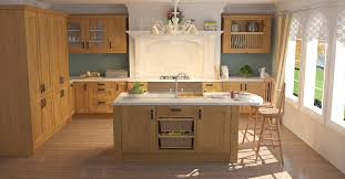 Timber Kitchen Designs Shaker Light Oak Timber Traditional Kitchens Kitchens Wren