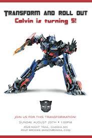 transformer birthday invitations u2013 bagvania free printable