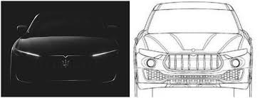 levante maserati white maserati levante suv leaked teaser photo perfectly matches patent