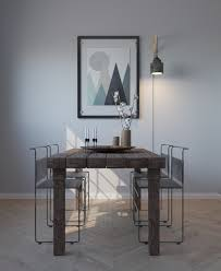 unfinished dining room tables 40 minimalist dining rooms to leave you hungry for style