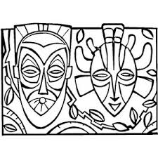 100 ideas african mask coloring pages on freenewyear2018 download