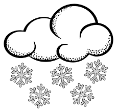 snowy weather clipart black and white clipartxtras