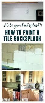 paint kitchen tiles backsplash painting tile backsplash dsmreferral