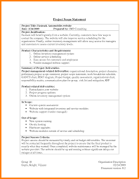 10 out of scope statement example resume language