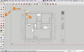 draw a floor plan in sketchup from a pdf tutorial