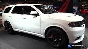 dodge durango 2018 dodge durango srt 475hp suv exterior interior walkaround