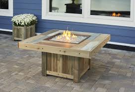 Cedar Table Top by Square Vintage 2424 Fire Table Fire Pits Fire Pits U0026 Fireplaces