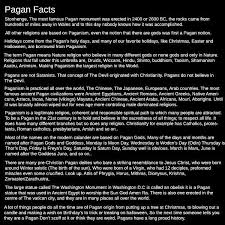 pagan facts this is only the tip of the iceberg the robes the
