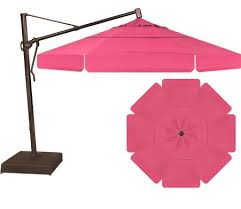 Offset Patio Umbrellas Clearance by Offset Patio Umbrella On Target Patio Furniture With Great Pink