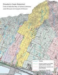 Uc Berkeley Campus Map Take A Stroll Through Strawberry Creek U0027s History U2013 Student