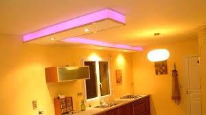 eclairage plafond cuisine eclairage plafond faux plafond led avec luminaire ronde