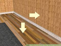 how to refinish wood with a faux whitewash technique