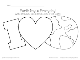 free earth kids color land water write