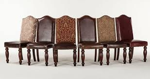 Dining Leather Chair Different Types Of Leather Dining Chairs Tcg