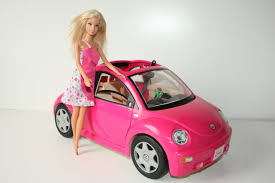 barbie jeep 2000 barbie volkswagen new beetle car and doll hd youtube
