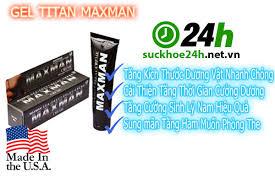 gel titan maxman giải pháp tăng kích thước cậu nhỏ hiệu quả nhất
