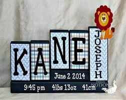 Baby Plaques Personalized Best 25 Wooden Block Letters Ideas On Pinterest Decorative