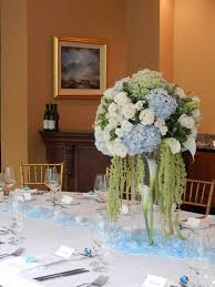 hydrangea centerpieces high end hydrangea and calla lilies table centerpiece