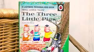 ladybird personalised three pigs book historic newspapers