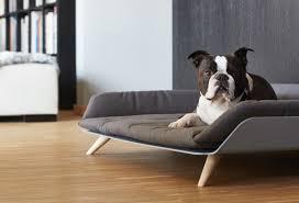 canapé lit luxe pour chien letto