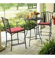 Wrought Iron Commercial Bistro Chair Wrought Iron Bar Height Table Foter