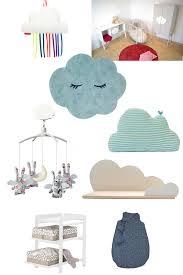 decoration nuage chambre bébé la chambre de bébé une déco dans les nuages femme attitude