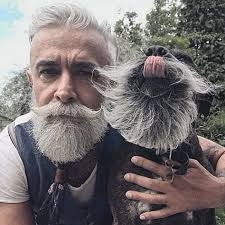 Rugged Hair 60 Grey Beard Styles For Men Distinguished Hair Ideas