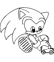 Sonic The Hedgehog Coloring Pages Free Sonic Coloring Pages