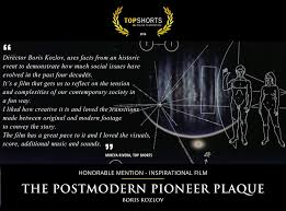 postmodern themes in film the postmodern pioneer plaque a project by boris kozlov
