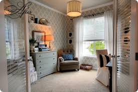 remodelaholic master bedroom makeover and wall stencil tutorial