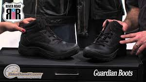 motorcycle road boots river road guardian motorcycle boots on bikebandit com youtube
