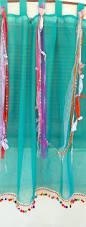 Hippie Beaded Door Curtains Interior Romantic Hippie Curtains For Hippie Room Decorating