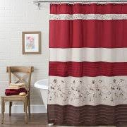 Navy And Red Shower Curtain Better Homes And Gardens Shower Curtains Walmart Com