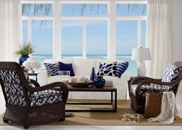 Blue And Brown Living Room by Coastal Living Room Ethan Allen