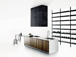 Island Kitchen Hoods by Solid Wood Kitchen With Island Aprile By Boffi Design Piero