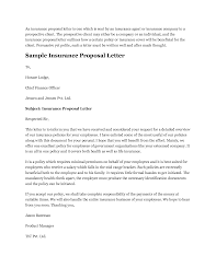 Example Of Business Letter Proposal by Health Insurance Proposal Template Template Design