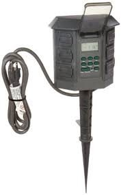 Outdoor Timer With Light Sensor - buy woods 2001 outdoor outlet timer w photocell light sensor