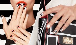 get perfect graphic nails u2013 beauty edit oriflame cosmetics