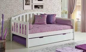 Modern White Furniture Bedroom Bedroom Exciting Trundle Bed For Inspiring Modern Bed Design