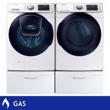 samsung 5 0cuft addwash steam washer 7 5cuft gas multi steam dryer