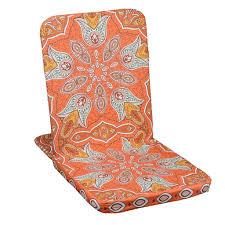 orange foldable meditation chair