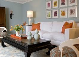 Orange Living Room Decor Orange Accents Transitional Living Room Angie Hranowsky