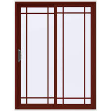 Sliding Door With Blinds Between Glass by 60 X 80 Sliding Patio Door Patio Doors Exterior Doors The