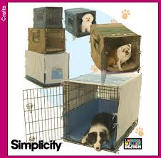 dog crate dog crate cover puppies pinterest crate simplicity pattern 4713 dog crate cover do it yourself