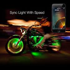 cyron led light strips xkglow xkchrome app control motorcycle led accent light kit 8